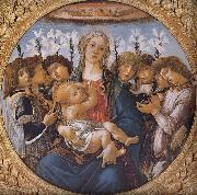 Our Lady of the eight sub angel Botticelli