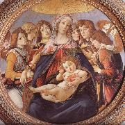 Our Lady of the eight sub-angel Botticelli