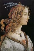 Woman as Sandro Botticelli