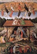The birth of Christ Sandro Botticelli