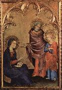 Christ Discovered in the Temple Simone Martini