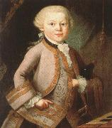 mozart at the age of six in court dress, painted p a lorenzoni antonin dvorak