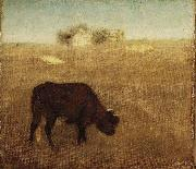 Evening Glow, The Old Red Cow Albert Pinkham Ryder