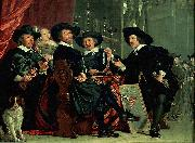 Governors of the archers' civic guard, Amsterdam Bartholomeus van der Helst