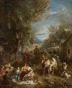 Picnic During the Hunt Francois Lemoyne