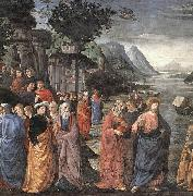 Calling of the First Apostles GHIRLANDAIO, Domenico