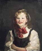 Laughing Girl Robert Henri
