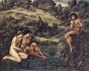 The Garden of Pan Sir Edward Burne-Jones