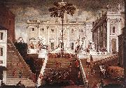 Competition on the Capitoline Hill Agostino Tassi
