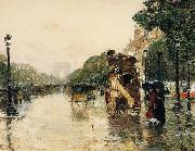 Champs Elysees Paris Childe Hassam