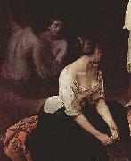 Bad der Nymphen, Detail Francesco Hayez