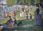 A Sunday afternoon on the is land of la grande jatte Georges Seurat
