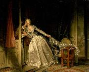 The Stolen Kiss Jean-Honore Fragonard
