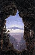 The Gate in the Rocks Karl friedrich schinkel