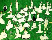 relaxing Kazimir Malevich