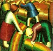 taking in the rye Kazimir Malevich