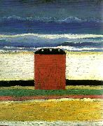 red house Kazimir Malevich