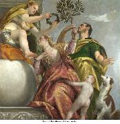 Allegory of Love IV Happy Union Paolo Veronese