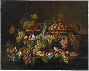 Still Life with Fruit Severin Roesen