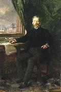 Portrait of Washington A. Roebling Theobald Chartran