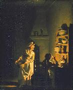 Testing Eggs. Interior of a Kitchen Pehr Hillestrom