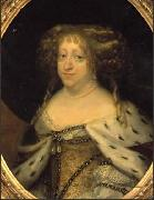 Queen Sophie Amalie painted in Abraham Wuchters