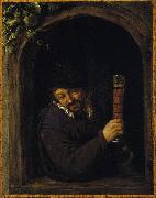 Peasant at a Window Adriaen van ostade