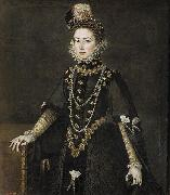 Portrait of Catalina Micaela de Austria Alonso Sanchez Coello