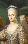 Portrait of Maria Antonietta of Spain Anton Raphael Mengs