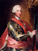 Portrait of Charles III of Spain Anton Raphael Mengs