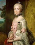 Portrait of Maria Luisa of Spain Anton Raphael Mengs