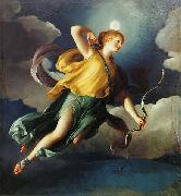 Diana as Personification of the Night by Anton Raphael Mengs. Anton Raphael Mengs