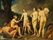The Judgment of Paris Anton Raphael Mengs