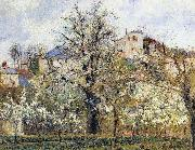 Material and Dimensions Camille Pissarro