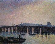 Old Chelsea Bridge Camille Pissarro