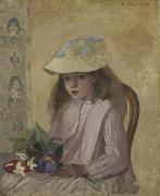 Artist s Daughter Camille Pissarro