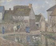 Pond at Ennery Camille Pissarro