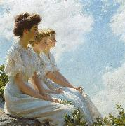 On the Heights Charles Courtney Curran