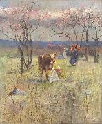 An Early Taste for Literature, Charles conder