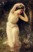 A Nymph In The Forest Charles-Amable Lenoir