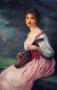 The Mandolin Charles-Amable Lenoir