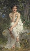 The Flute Player Charles-Amable Lenoir