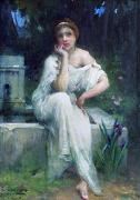 Study for A Meditation Charles-Amable Lenoir