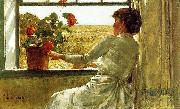 Summer Evening Childe Hassam