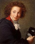 Portrait of Count Grigory Chernyshev with a Mask in His Hand Elisabeth LouiseVigee Lebrun