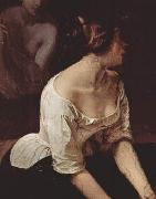 Bath of the Nymphs, detail Francesco Hayez