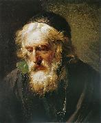 The Greek Priest Francois-Andre Vincent