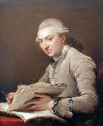 Portrait of Pierre Rousseau (1751-1829), French architect Francois-Andre Vincent