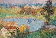 Colour Note at South Yarra Frederick Mccubbin