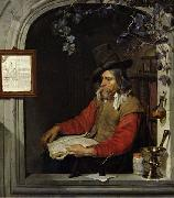 The Apothecary or The Chemist. Gabriel Metsu